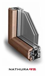 Serramenti alluminio legno palermo Nathura 92