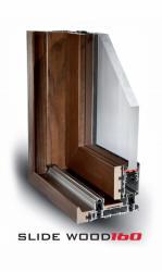 Sclide_wood_160_taglio_Termico_alluminio_legno_finestra_infisso