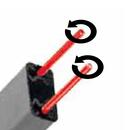 cancelletti estensibili blindatura due tondini girevoli palermo